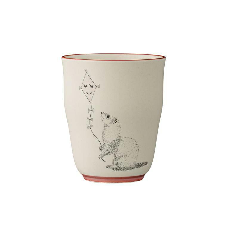 《 Bloomingville 》鼬鼠陶瓷杯