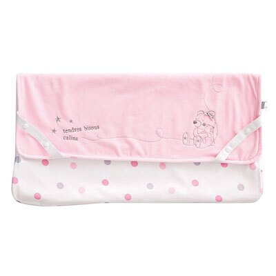 【悅兒樂婦幼用品館】奇哥 布偶熊防水透氣保潔墊(粉色)