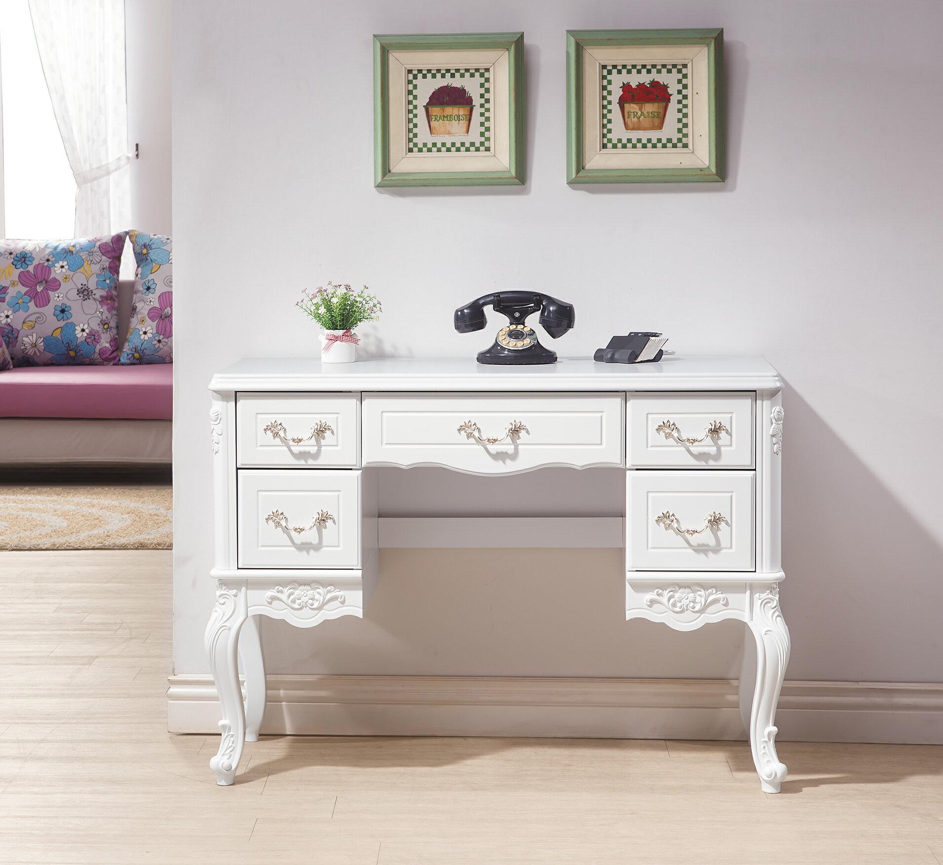 【尚品傢俱】HY-B337-01 溫妮莎歐風3.5尺玄關桌