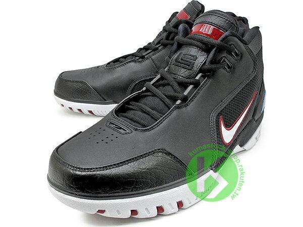 2017 小皇帝 LeBron James 限量復刻 NIKE AIR ZOOM GENERATION QS 黑白紅 NBA 第一雙代言鞋款 H2 悍馬車 KING'S ROOK (AJ4204-001) ! 1