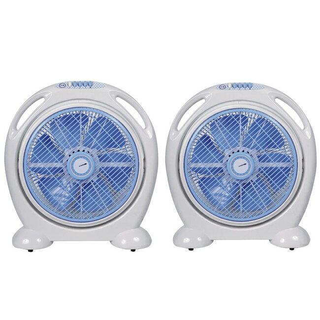 【雙星】14吋手提涼風箱型扇 TS-1466 (超值2入組)