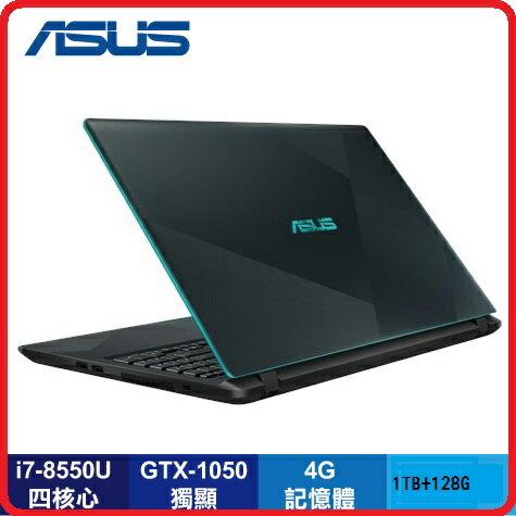 【2018.6類電競混碟獨顯】ASUS華碩VivoBookX560UD-0101B8550U閃電藍15.6吋Slim系列窄邊框筆電藍i7-8550U4G1TB+128GMX10502GWIN10