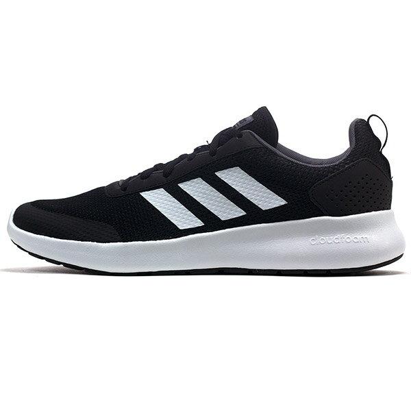【ADIDAS】CF ELEMENT RACE 慢跑鞋 運動鞋 男鞋 黑色 -DB1459