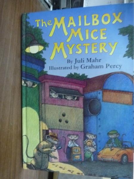 ~書寶 書T7/原文書_QFE~The Mailbox Mice Mystery_Mahr