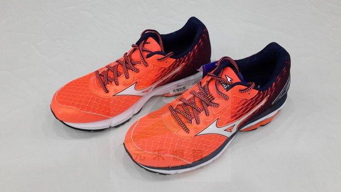 元禾〉MIZUNO男 慢跑鞋 WAVE RIDER19 系列 J1GC160301