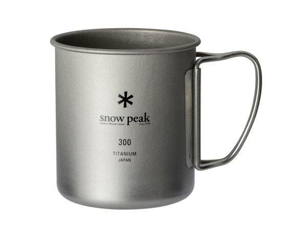 ├登山樂┤日本SnowPeakSP鈦金屬單層杯-300#MG-142