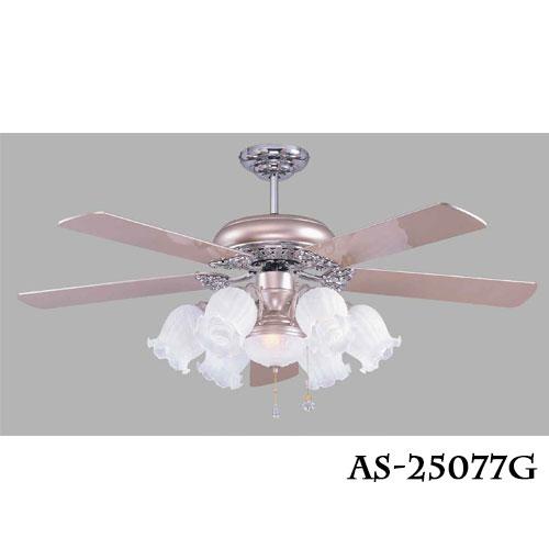 傳統系列★60吋吊扇燈風扇燈霧鋁銀光源另計★永光照明AS-25077+AS-25078