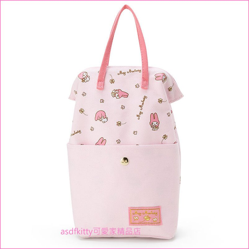 asdfkitty可愛家☆美樂蒂塑膠袋收納袋-方便收納.取出-日本正版商品