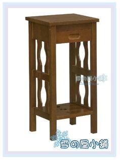 ╭☆雪之屋居家生活館☆╯R554-06流線型花架(鐵灰色)(DIY自組)置物架收納架電話架書報架展示架