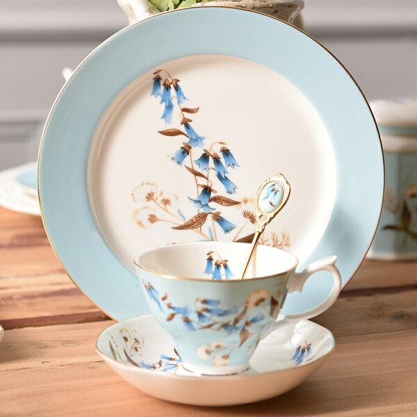 麻吉小舖:骨瓷英式下午茶陶瓷茶具咖啡杯碟甜品盤四件套裝