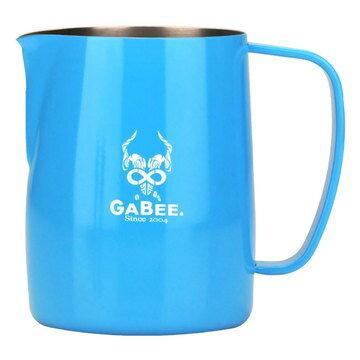 金時代書香咖啡 GABEE. 1408B 拉花杯 600CC (藍) HC7105BU