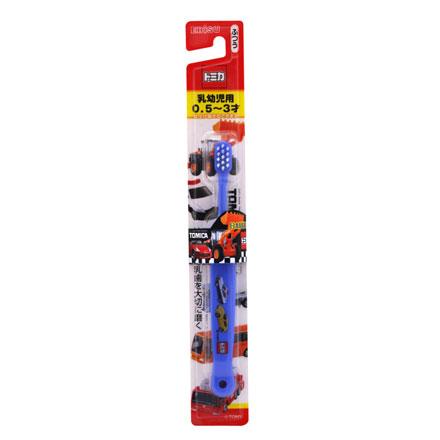 【悅兒樂婦幼用品舘】日本EBiSU TOMICA 0.5~3歲兒童牙刷 (B-700)