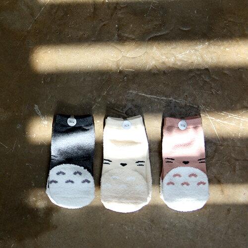 韓國 Mini Dressing 嬰幼兒  小童短襪三入組_ 可愛龍貓 ^(MDS007^