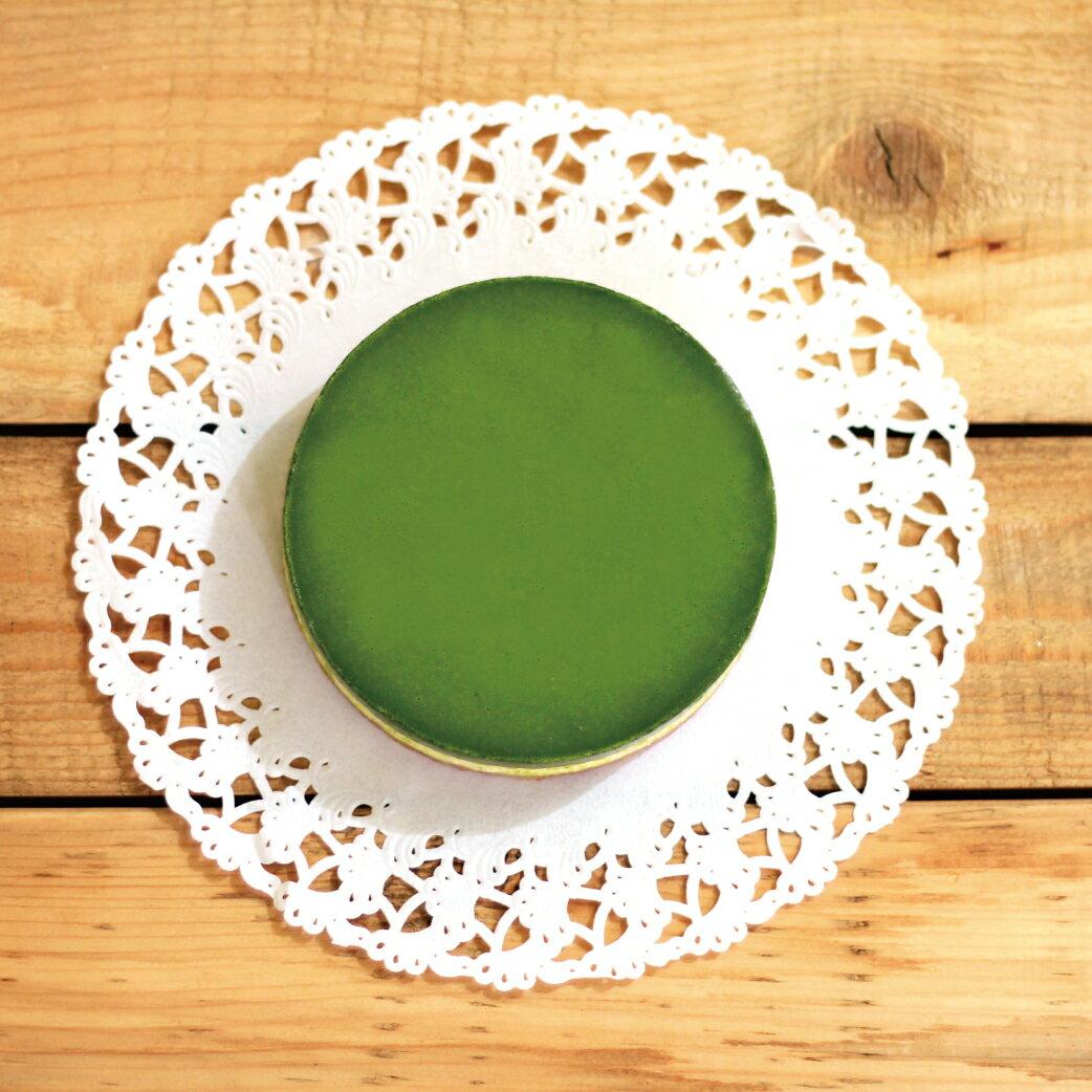 ★8吋  抹茶種乳酪(重乳酪)  ★ 日本宇治抹茶 X 法國奶油起士,手工自製杏仁餅乾底,多層次口感,驚豔你的味蕾~! 4