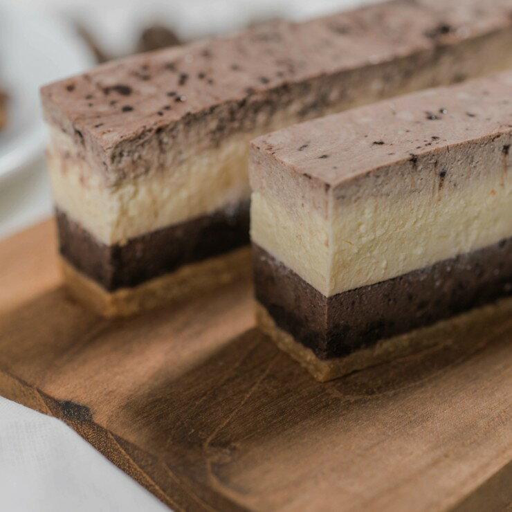 巧克力綜合乳酪條*4條原味+巧克力2條
