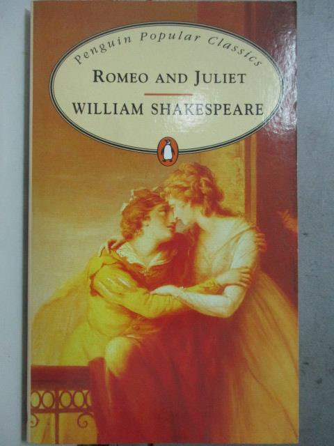 ~書寶 書T8/原文小說_OBA~Romeo and Juliet  Penguin Po