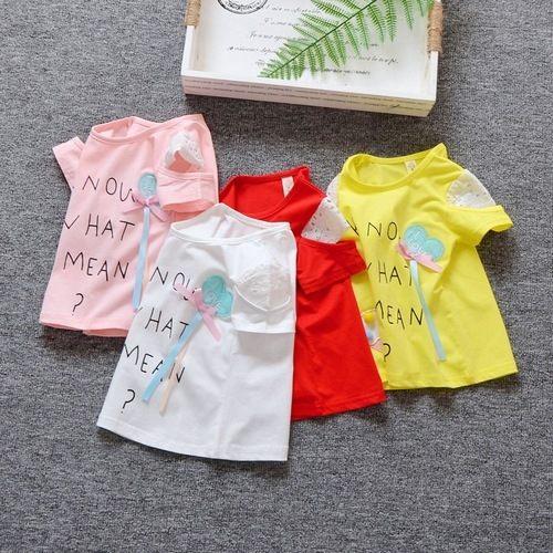 短袖上衣嬰幼兒短袖T恤寶寶童裝UG0663好娃娃