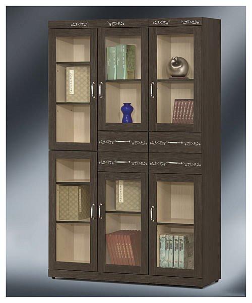 【尚品傢俱】 EY-43 貝納頌4x7書櫃~(另有3x7.1.3x7書櫃~)