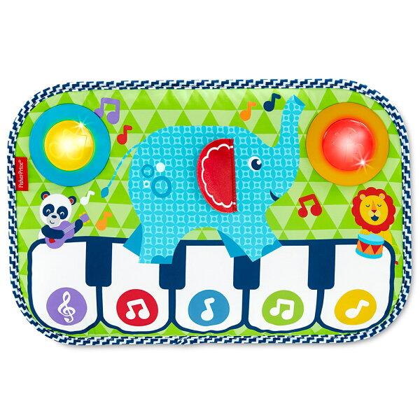 【麗嬰房】美國FisherPrice費雪大象踢踢腳鋼琴