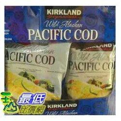 [COSCO代購 如果沒搶到鄭重道歉] Kirkland Signature 科克蘭 冷凍阿拉斯加野生鱈魚 0.91公斤 (2入) _W417380
