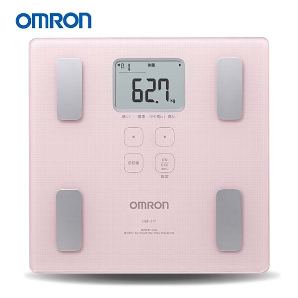 【醫康生活家】OMRON歐姆龍體重體脂計HBF-217(需訂購請電洽)