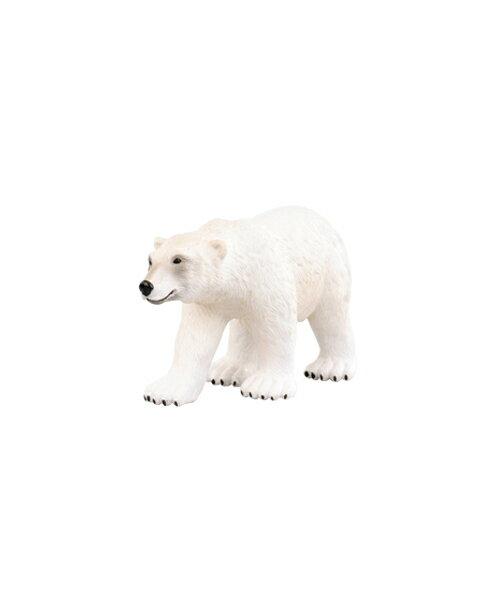 【美國B.Toys感統玩具】Terra 北美洲動物-北極熊【紫貝殼】