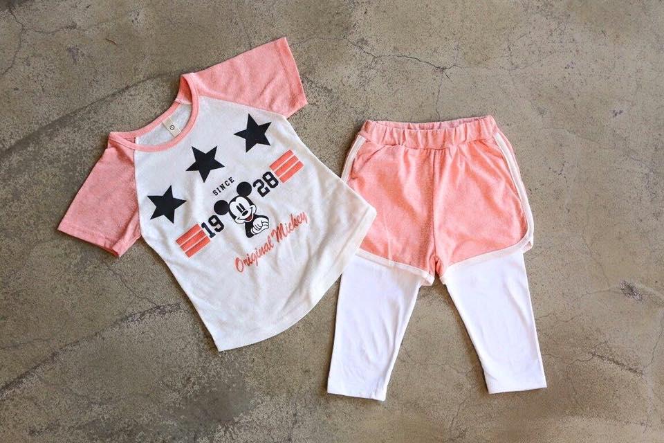 【Jewel House】小童米奇套裝(上衣+褲子)