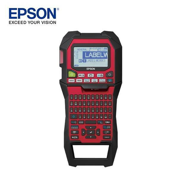 EPSON愛普生 手持式標籤機 工業用 LW-Z900FK/LW-Z900 軍規防撞防摔/強力磁鐵 附原廠工具箱