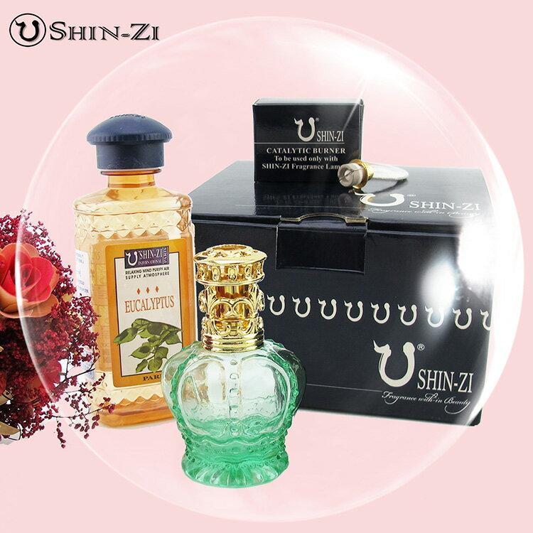 【香芝】法國純植物薰香汽化精油禮盒300ml + 小玻璃薰香瓶 (附蕊頭 便利蓋)