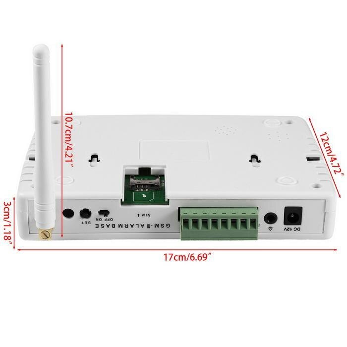 GSM alarm, wireless alarm, infrared alarm 433MHz 2