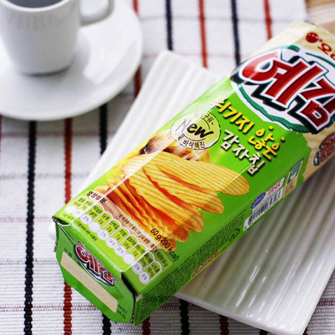 韓國超人氣《預感洋芋片》康熙來了推薦.團購必買  共有原味、起司、洋蔥 3  種口味  【樂活生活館】