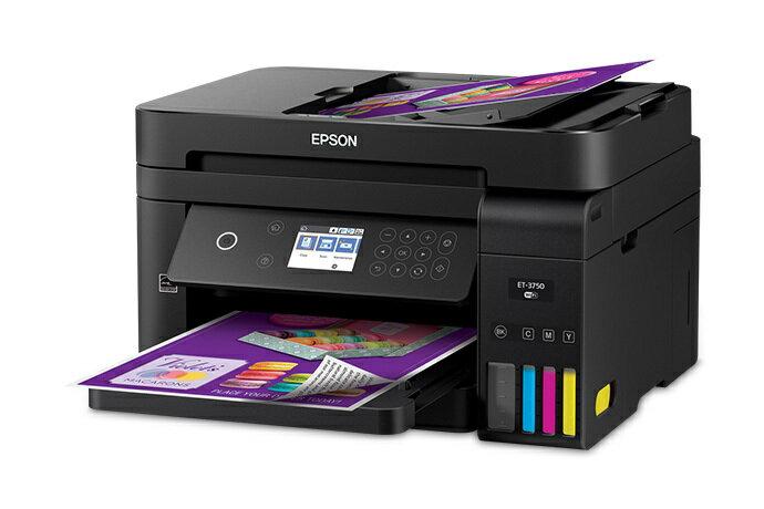 Epson WorkForce ET-3750 EcoTank All-In-One Inkjet Printer 1