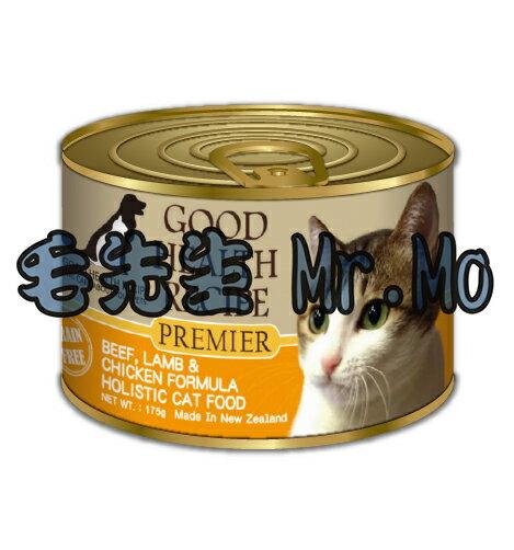 GHR 健康主義 貓罐頭 貓用 主食罐 175g X12罐