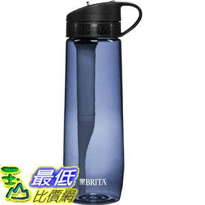[106美國直購] 過濾器 Brita 23.7 Ounce Hard Sided Water Bottle with Filter - BPA Free - Gray