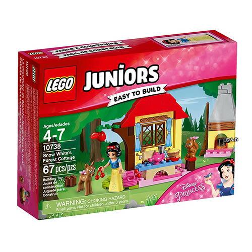 樂高積木 LEGO《 LT10738 》Junior 初學級系列 -白雪公主 Snow White s Forest Cottage