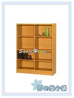 ╭☆雪之屋居家生活館☆╯AA555-04A05書櫃(美背式)置物櫃收納櫃展示櫃附活動隔板4片