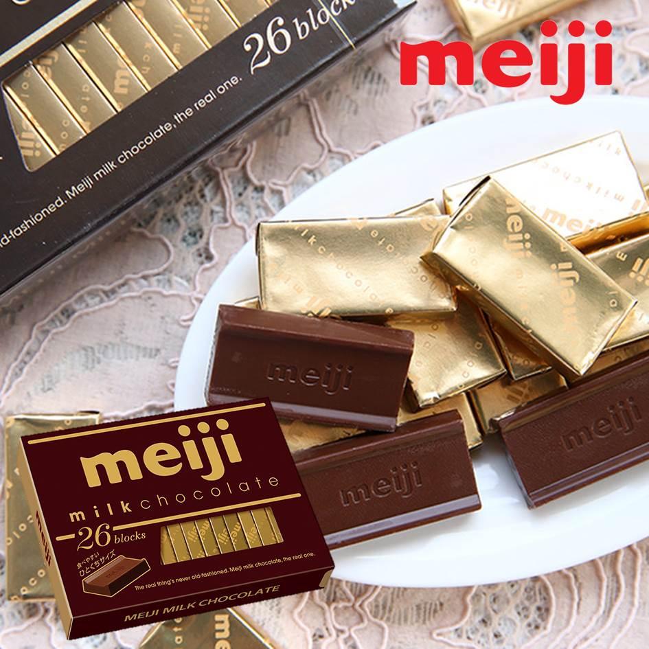 【Meiji明治】鋼琴巧克力26枚-牛奶 / 草莓 / 黑巧克力 チョコレート 3.18-4 / 7店休 暫停出貨 8