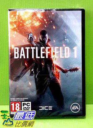 [刷卡價] (實體版)初回版 PC GAME 電腦版 戰地風雲 1 Battlefield 1 中文版