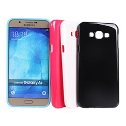 Ultimate-Samsung A8 亮麗全彩軟質保護殼 手機背蓋 三星 手機殼 果凍清水套 保護套 手機殼