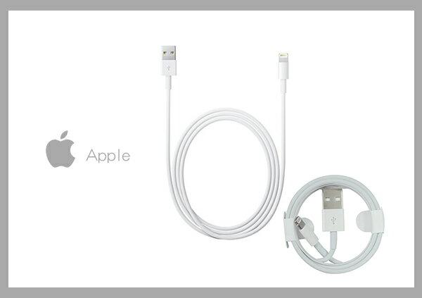 Mr ORIGINAL:Apple原廠iPhone7Lightning對USB連接線(1公尺)(密封袋裝)