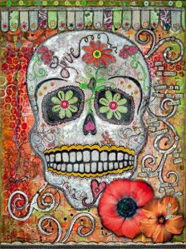 Love Skull Poster Print by Denise Braun (9 x 12) 7e5f2914565f3f029229b3671fc585a1
