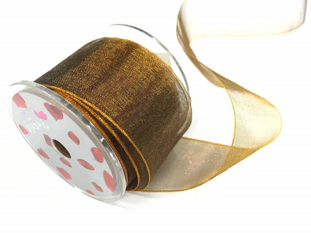 Petals緞帶刺繡-38mm雙色雪紗(十色) 4