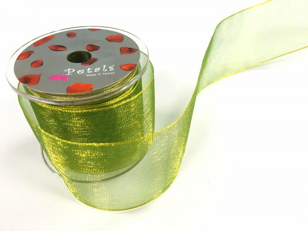 Petals緞帶刺繡-38mm雙色雪紗(十色) 9