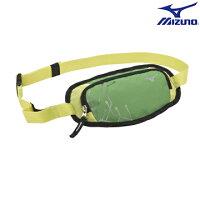 慢跑_路跑周邊商品推薦到33TM600635(綠) 運動用(加大) 腰包 【美津濃MIZUNO】