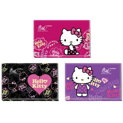 春風 Hello Kitty 袖珍包面紙 (10抽(雙層)x30包)/袋 隨機