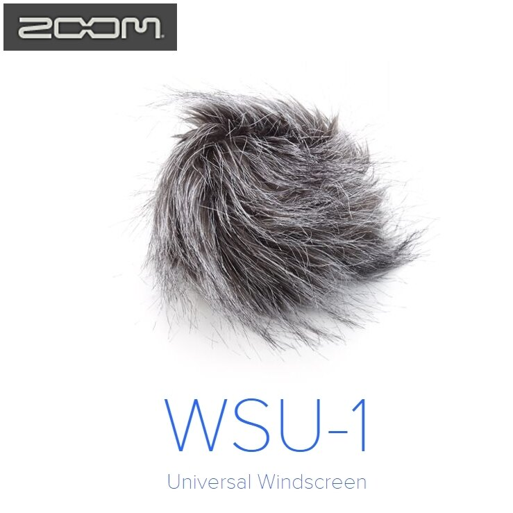 又敗家@日本Zoom防風毛罩WSU-1防風毛罩適H1 H2n H4n H5 H6麥克風防風毛罩MIC防風罩WSU1毛防風罩麥克風抗風罩麥克風去風切聲麥克風去風罩麥克風少風切聲雜音麥克風防風套