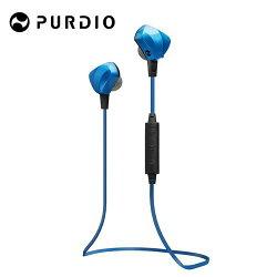 [富廉網] Purdio OPAL EX60藍牙無線運動耳機-寶石藍 Sapphire Blue