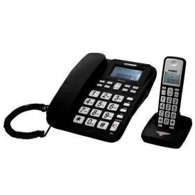 旺德數位無線電話 黑 WONDER WD-9102D 2.4G高頻數位無線電話