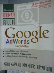 【書寶二手書T7/原文書_QEN】Ultimate Guide to Google Adwords
