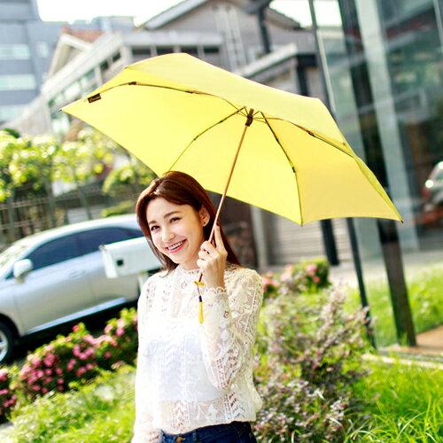 極輕 超迷你金屬漆手開折傘 夏天雨季必備 一甩即乾 130g 0